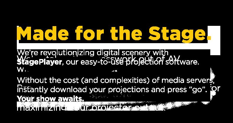 BMD StagePlayer